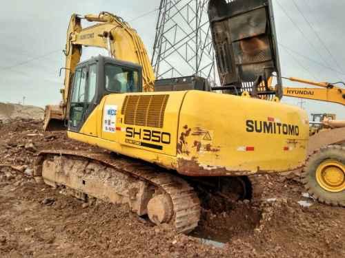 浙江出售转让二手8600小时2008年住友SH350挖掘机
