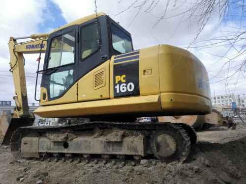 内蒙古出售转让二手4000小时2013年小松PC130挖掘机