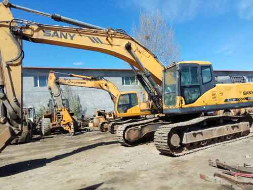 内蒙古出售转让二手5900小时2009年三一重工SY330C挖掘机