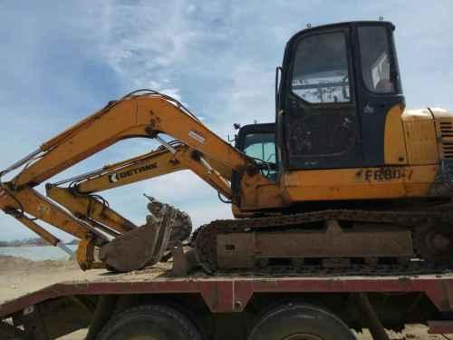内蒙古出售转让二手11000小时2009年福田雷沃FR60挖掘机