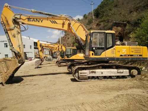 河北出售转让二手4200小时2011年三一重工SY135C挖掘机