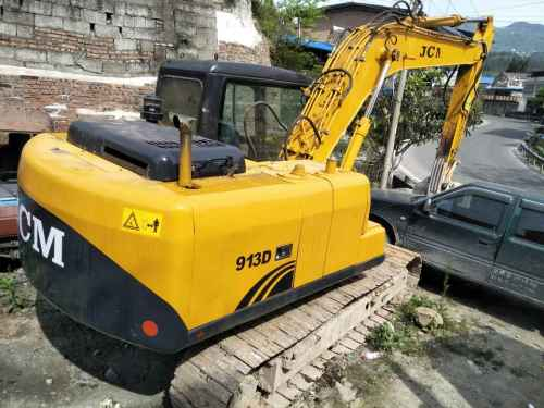 重庆出售转让二手6000小时2012年山重建机JCM913D挖掘机