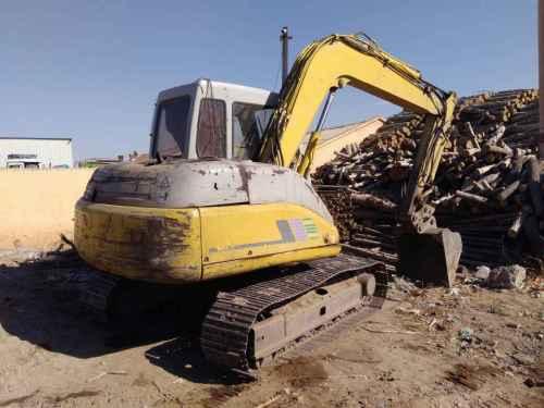 内蒙古出售转让二手20000小时2003年住友SH60挖掘机