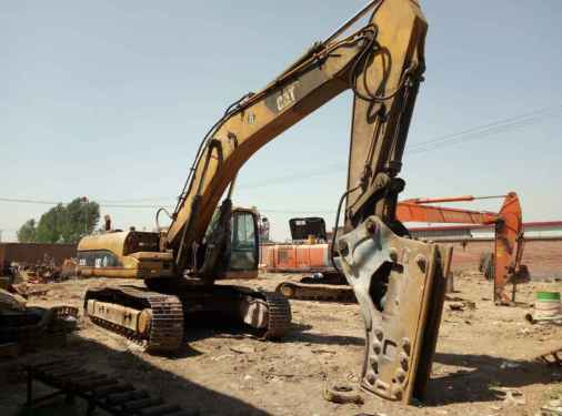 河北出售转让二手9000小时2011年卡特彼勒330D挖掘机