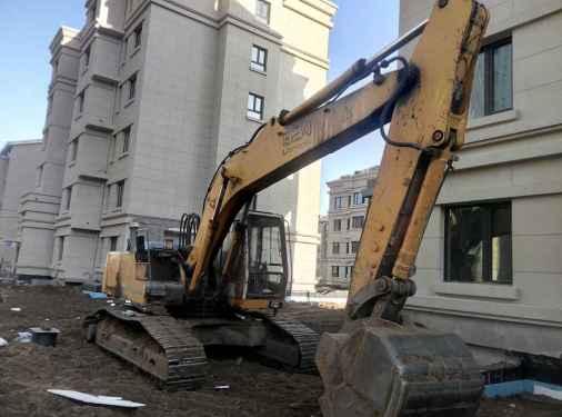 辽宁出售转让二手11000小时2007年利勃海尔R924B挖掘机