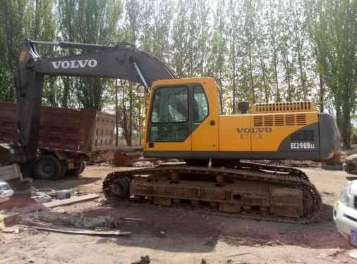 宁夏出售转让二手7000小时2010年沃尔沃EC290BLC挖掘机