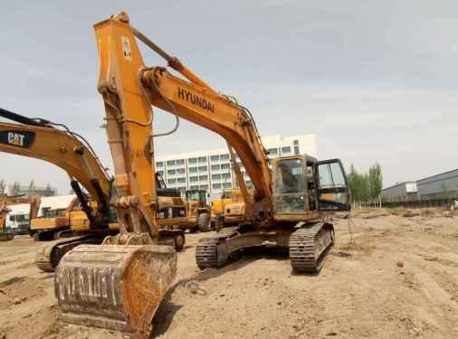 宁夏出售转让二手9000小时2009年现代R305LC挖掘机