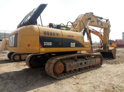 宁夏出售转让二手6000小时2010年卡特彼勒336D挖掘机