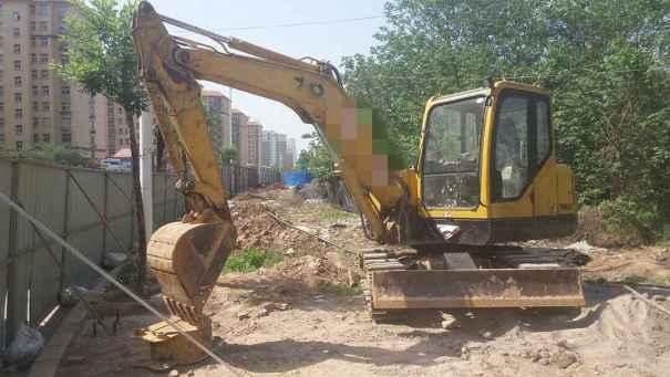河南出售转让二手10000小时2009年彭浦SW60E挖掘机