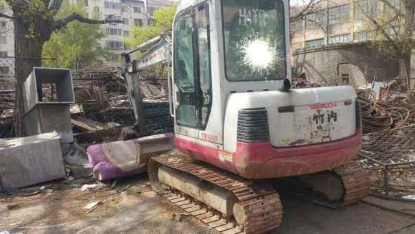 山西出售转让二手10000小时2008年竹内TB150C挖掘机