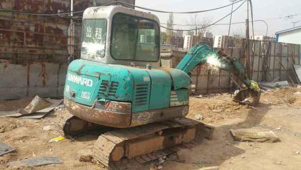 山西出售转让二手10000小时2008年山河智能SWE50挖掘机