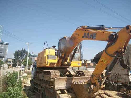 云南出售转让二手6503小时2012年泰安嘉和JH75挖掘机