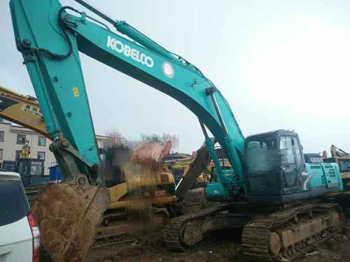 云南出售转让二手5312小时2012年神钢SK350LC挖掘机