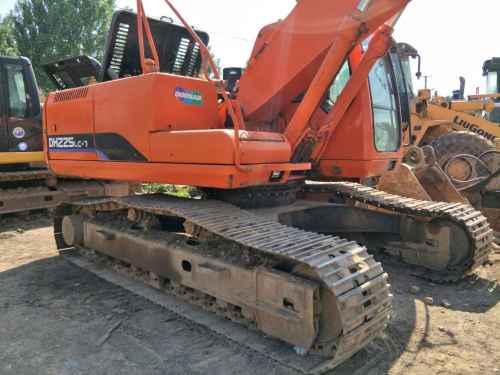 天津出售转让二手9800小时2010年斗山DH225LC挖掘机