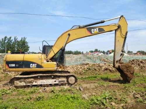 河南出售转让二手8367小时2009年卡特彼勒320D挖掘机