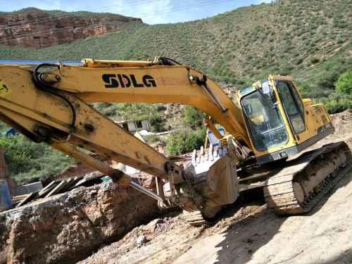 甘肃出售转让二手7000小时2011年临工LG6210挖掘机