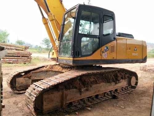 四川出售转让二手7000小时2013年山重建机JCM924D挖掘机