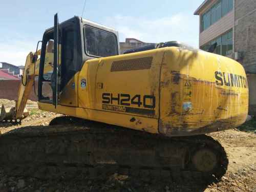 江西出售转让二手8500小时2009年住友SH210LC挖掘机
