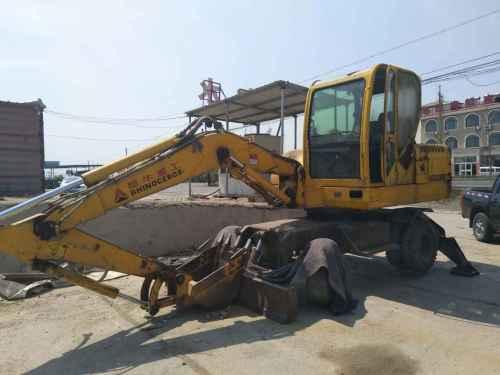 河北出售转让二手5000小时2011年犀牛重工XNW51360挖掘机