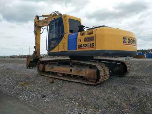 甘肃出售转让二手8000小时2009年厦工XG822LC挖掘机