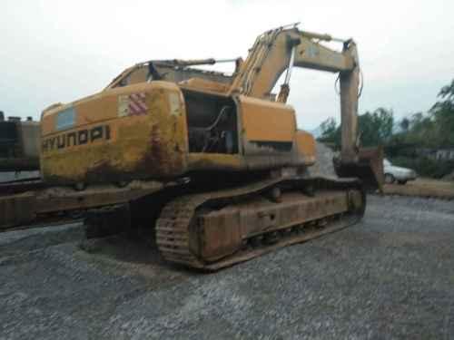 云南出售转让二手6000小时2008年现代R305LC挖掘机