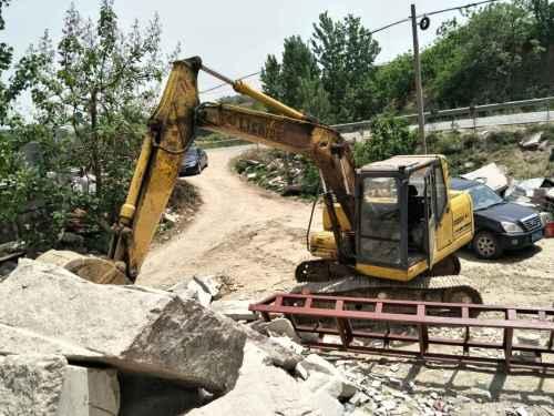山东出售转让二手8000小时2011年力士德SC130挖掘机