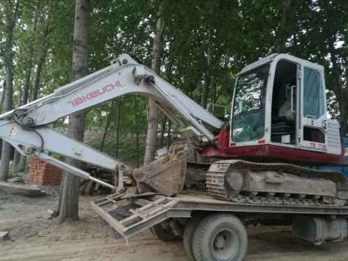 山东出售转让二手5236小时2012年竹内TB175C挖掘机
