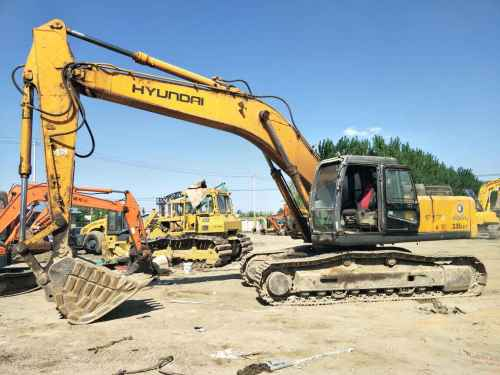 北京出售转让二手9267小时2009年现代R335LC挖掘机