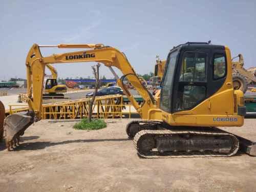 陕西出售转让二手5000小时2010年龙工LG6065挖掘机