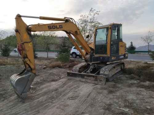 甘肃出售转让二手5000小时2011年临工LG660E挖掘机