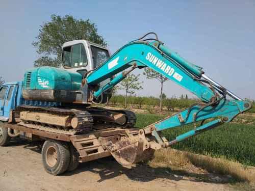 山西出售转让二手7475小时2011年山河智能SWE70挖掘机