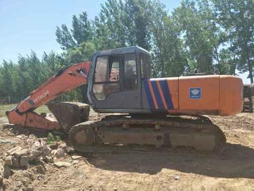 河北出售转让二手19000小时2003年日立EX200挖掘机