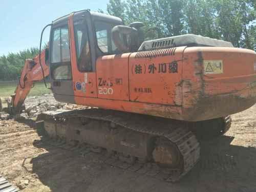 河北出售转让二手13800小时2003年日立ZX200挖掘机