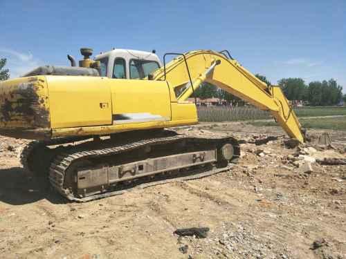 河北出售转让二手19500小时2003年住友SH200Z3挖掘机