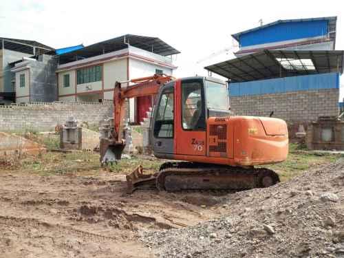 云南出售转让二手6000小时2011年日立ZX60挖掘机