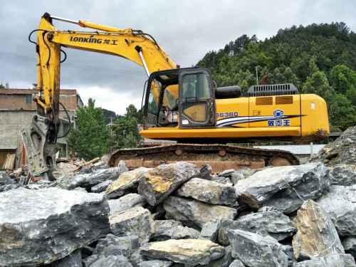 贵州出售转让二手6500小时2012年龙工LG6360挖掘机
