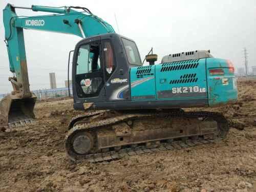 安徽出售转让二手9863小时2011年神钢SK200挖掘机