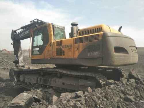 山西出售转让二手11500小时2009年沃尔沃EC360BLC挖掘机