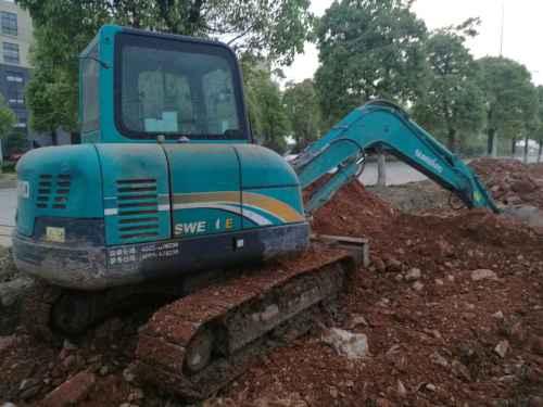 安徽出售转让二手4900小时2013年山河智能SWE60E挖掘机