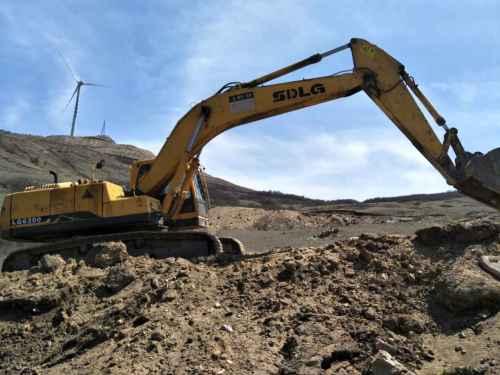山西出售转让二手8000小时2011年临工LG6250挖掘机