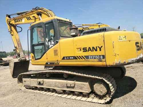 天津出售转让二手14000小时2009年三一重工SY215C挖掘机
