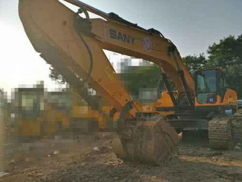 天津出售转让二手6858小时2010年三一重工SY465C挖掘机