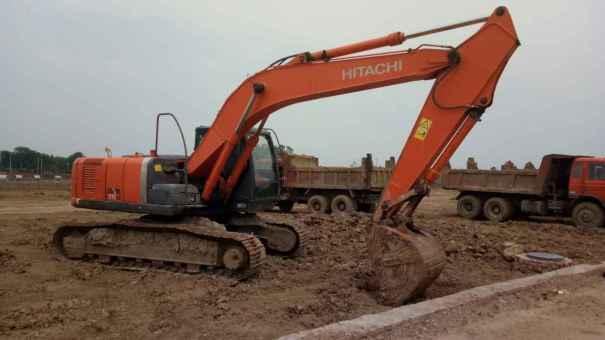 安徽出售转让二手11100小时2010年日立ZX210LC挖掘机