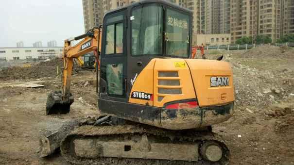 安徽出售转让二手7500小时2012年三一重工SY60C挖掘机