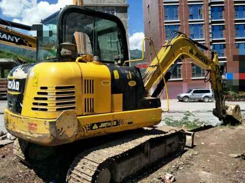 云南出售转让二手4523小时2013年巨超重工JC60挖掘机