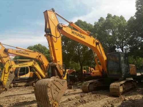 江苏出售转让二手7452小时2013年现代R215挖掘机