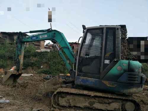 贵州出售转让二手6500小时2010年石川岛65NS挖掘机