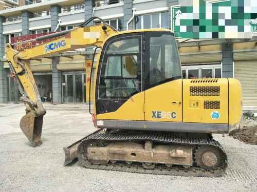 河南出售转让二手5300小时2013年徐工XE80C挖掘机