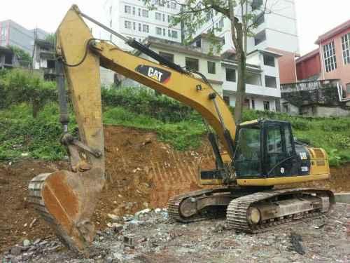 重庆出售转让二手6500小时2012年卡特彼勒326DL挖掘机