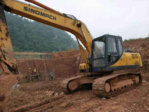 湖南出售转让二手5000小时2012年国机重工ZG3235挖掘机